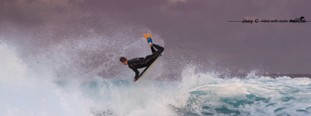 Joe Clarke Rides with Style Invertedf Bodyboard Shop