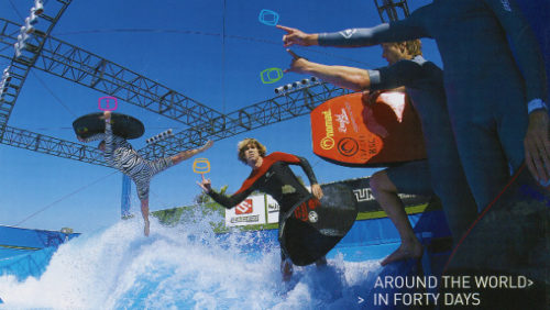 around the world in 40 days