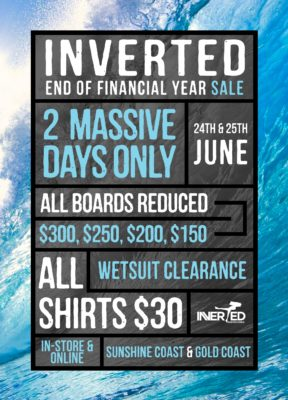 Inverted Bodyboardshop EOFYS Sale Bodyboard Shop Sales Bodyboarding