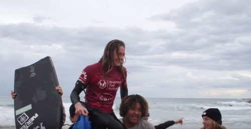 Santo Vanderwaal ABA Tour Northern Beaches Champ pro Junior Inverted Bodyboarding Blog