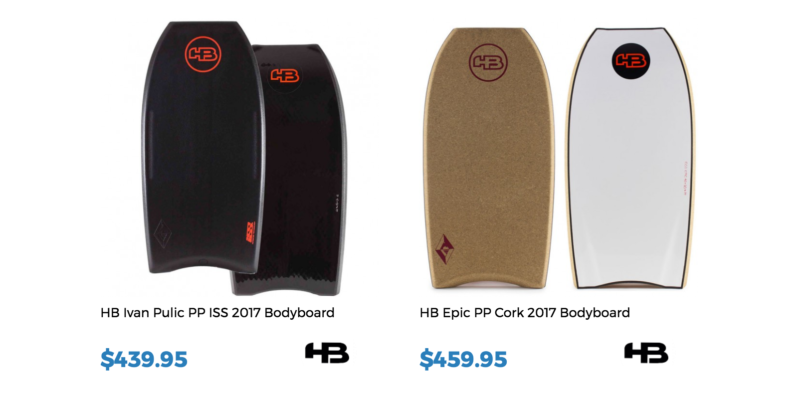 HB Bodyboards for sale at Inverted Bodyboarding