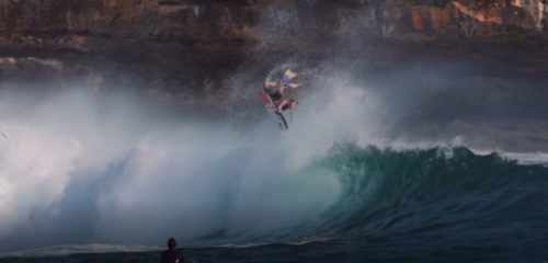 Dallas Singer Bodyboarding Air Reverse Java Bali