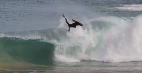 George Humphreys bodyboarding invert