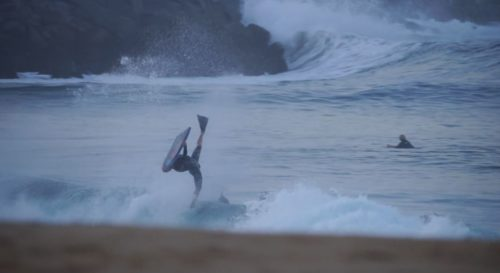 Craig Whetter Inverted Bodyboard Blog Newport Wedge