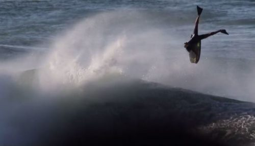 David Barbosa Inverted Bodyboarding