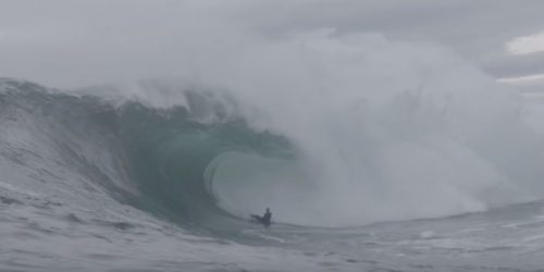 Lachlan Cramsie Bodyboarding Big Wave Awards barrel