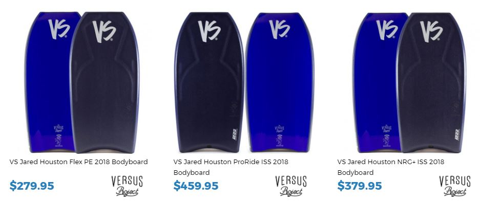 Jared Houston bodyboards for sale at inverted Bodyboard SHop