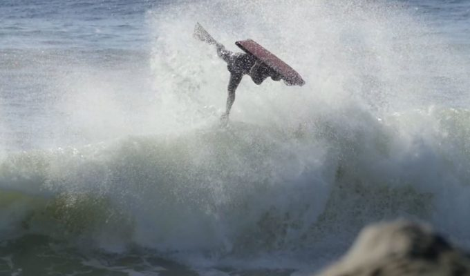 Michael Novy Bodyboarding South of the Border