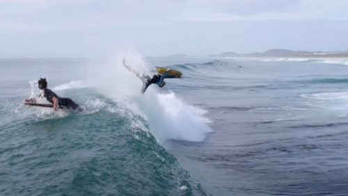 Ash Bryant Bodyboarding on the Gold Coast