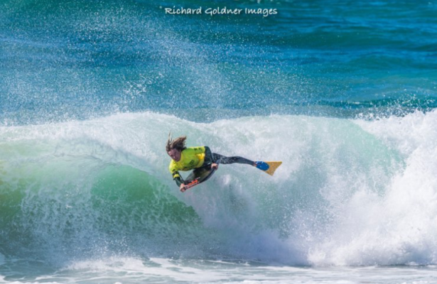Santo Vanderwaal Roll at Inverted Gold Coast Bodyboard Club