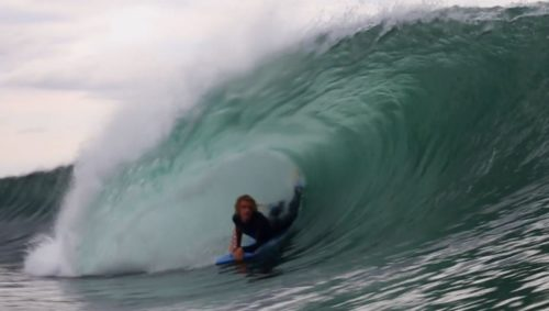 Liam Lucas barrel Inverted Bodyboard SHop