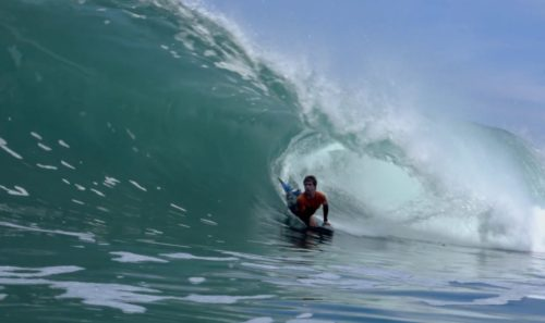 Sacha Damjanic Bodyboarding at inverted Bodyboard Shop