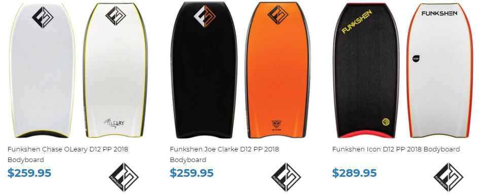 Shop Funkshen bodyboards at Inverted